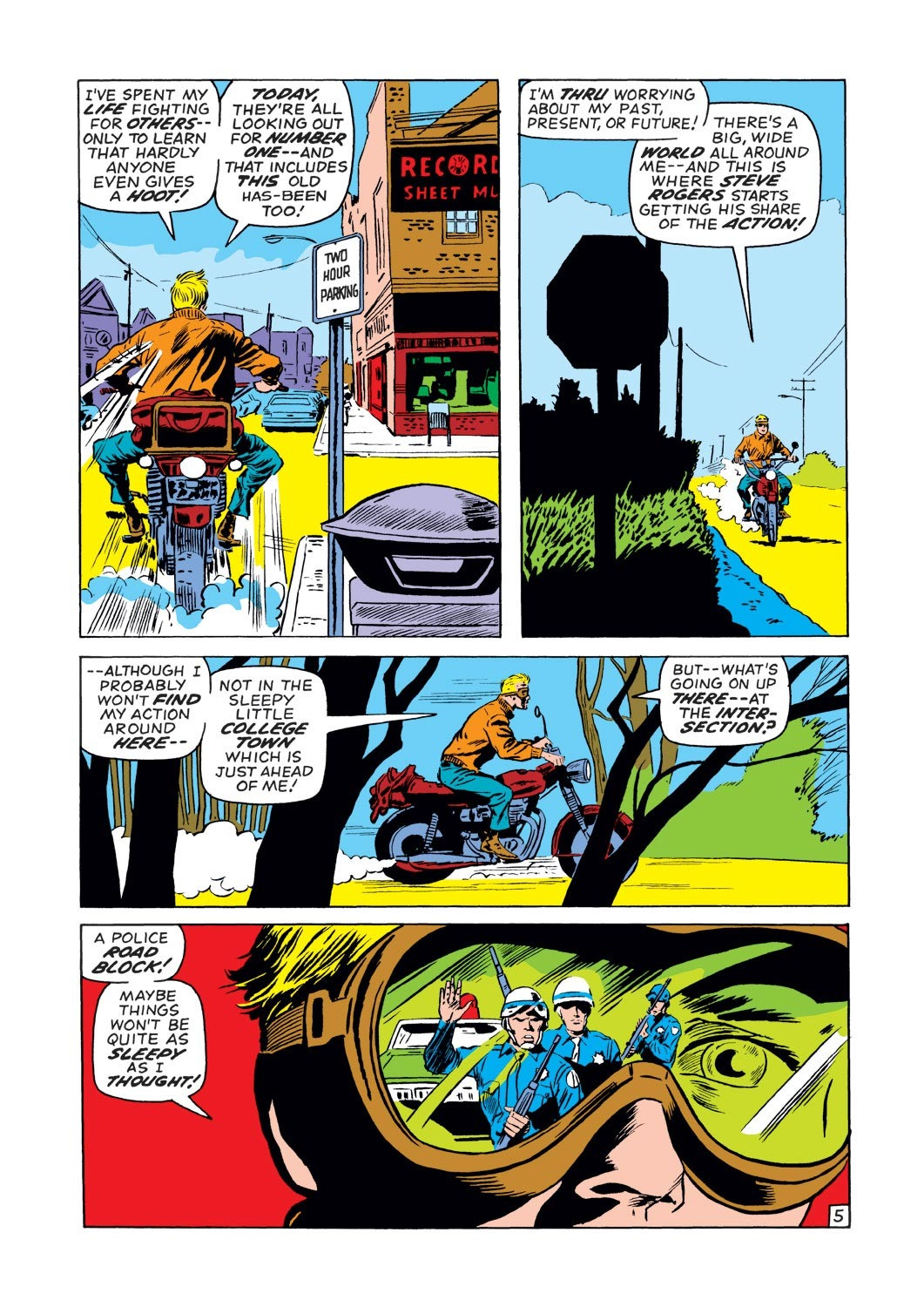 Captain America (1968) Issue #130 #44 - English 6