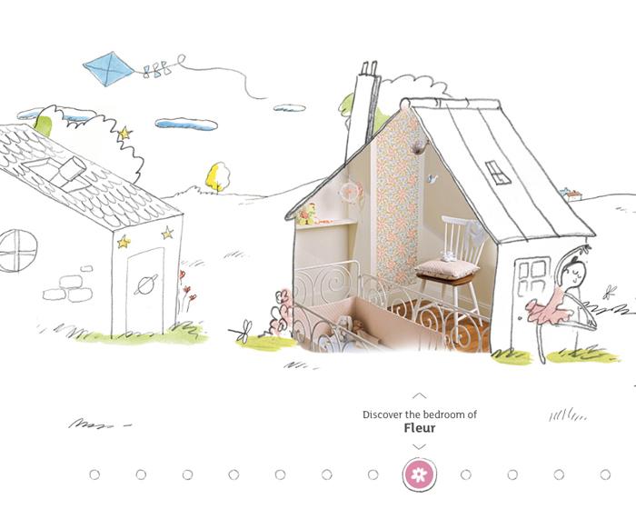 Djeco  little-big-room new concept for children room