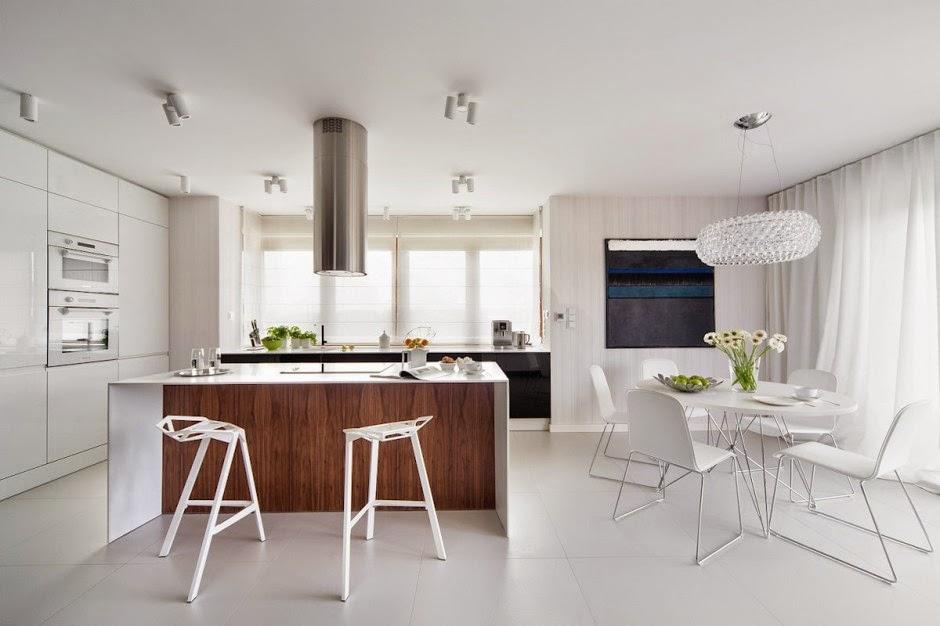 Casa d58 decoraci n interior minimalista polonia for Arquitectura minimalista casas