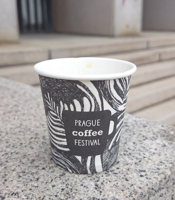 Kelímek z Prague Coffee Festivalu