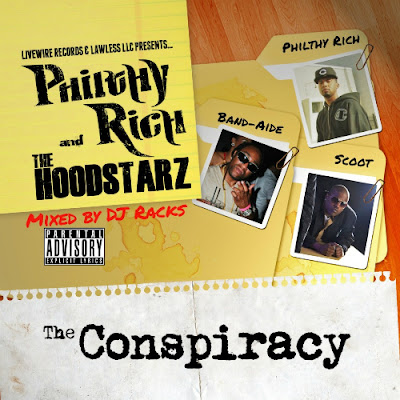 Philthy_Rich_And_The_Hoodstarz-The_Conspiracy_(Mixed_By_DJ_Racks)-(Bootleg)-2012