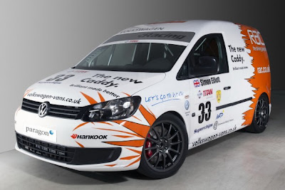 2011 New Volkswagen Caddy Race Car