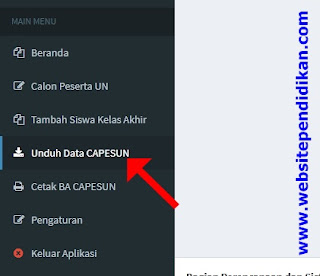 Cara Download Data Calon Peserta UN 2016 Kemenag