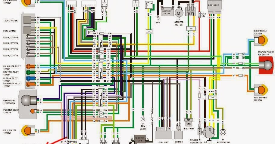 Auto Repair Manual Wiring Diagram Honda Astrea Grand
