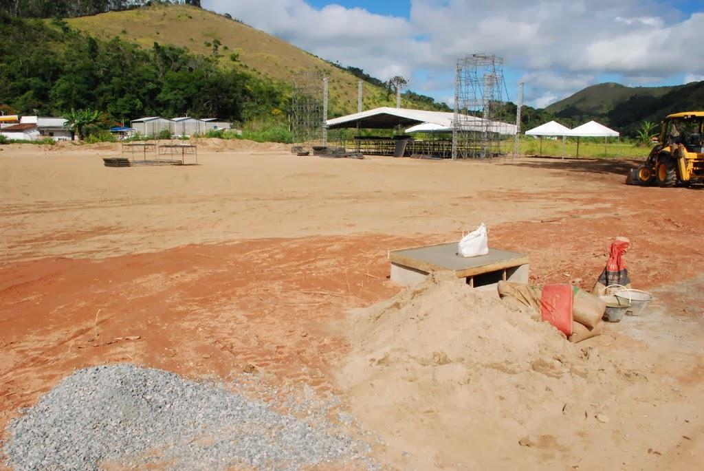 Local terá estandes de artesanato, pátio de competição e palco para shows