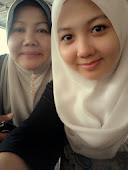 Saya dan mak kesayangan :)