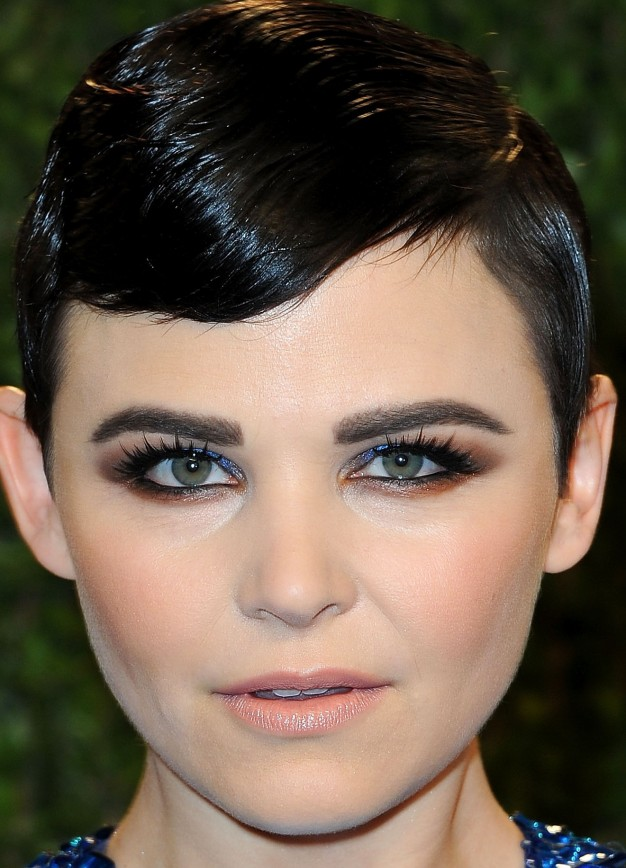 Kginnifer goodwyn maquilhagem pos oscares, oscars party makeup 2013