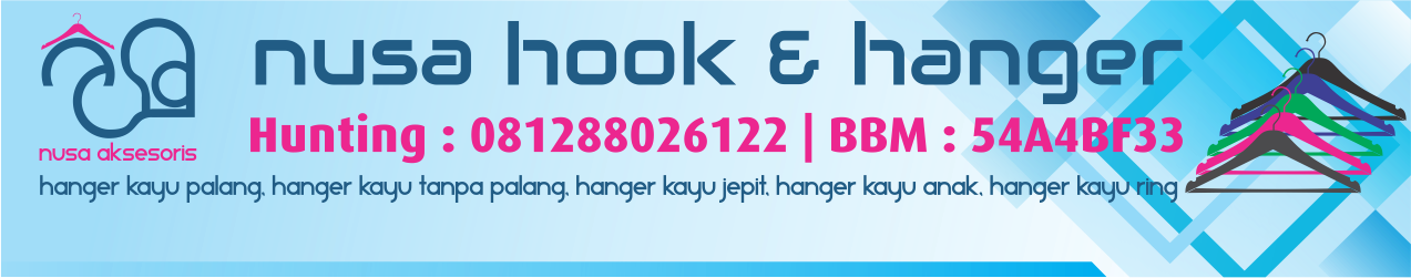 Hanger Hotel, Hanger Kayu, Hanger Satin, Ring Anti Theft, Hook Hanger Kayu : 081288026122