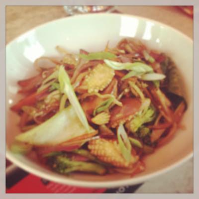vegetable teppenyaki
