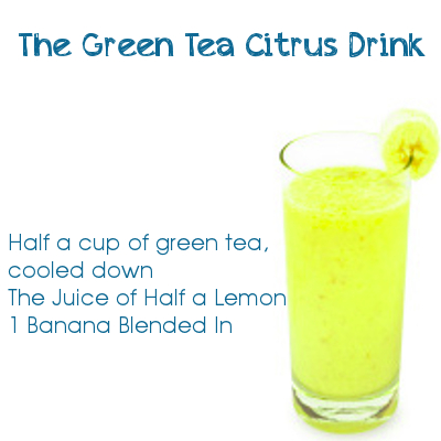 The Green Tea Citrus Drink
