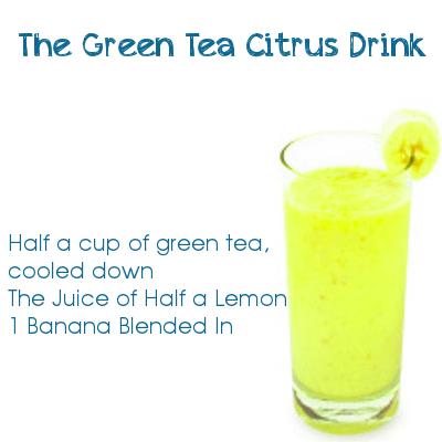 The Green Tea Citrus Drink