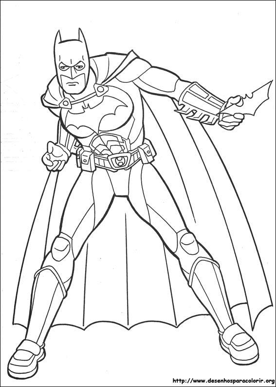 Desenholandia Desenhos Do Batman Para Pintar Colorir Ou