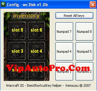 wc3isk   Phần mềm chuyển Hot Key Trong Dota