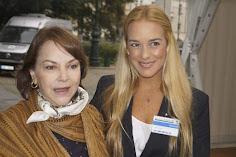 Lilian Tintory y Mitzy Capriles