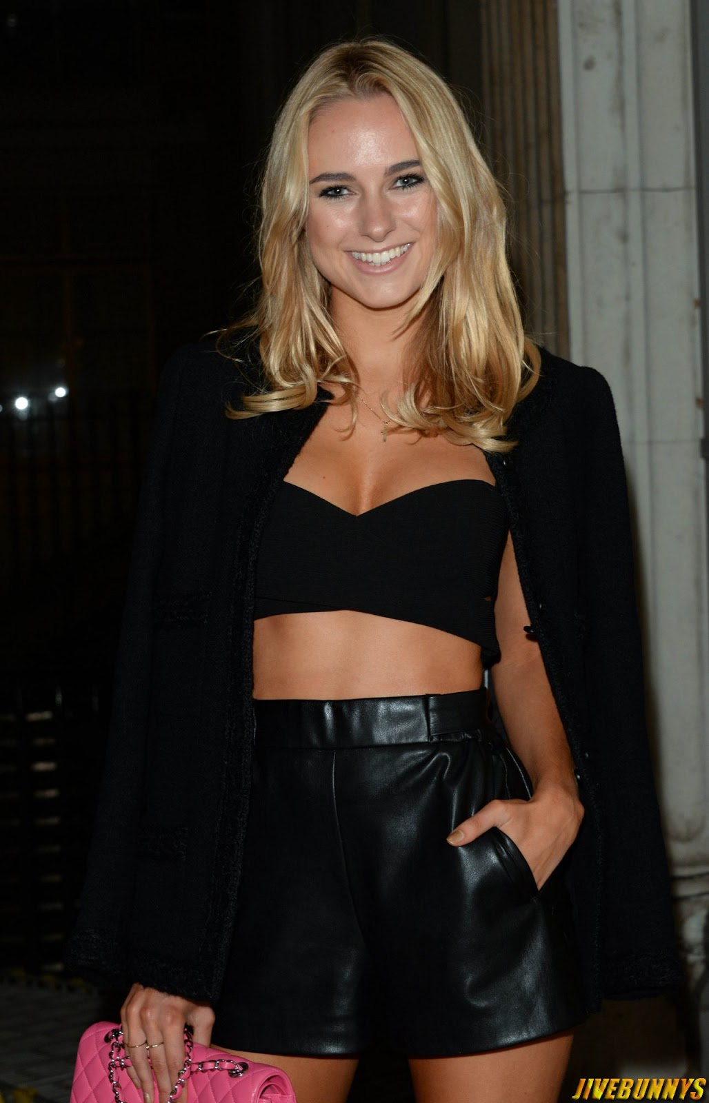 Kimberley Garner @ LFW S/S 2015: Sorapol Catwalk Show in London - 14/09/2014