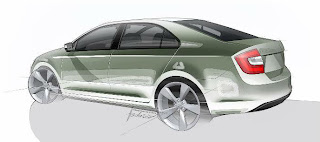 Skoda Rapid production car previewed