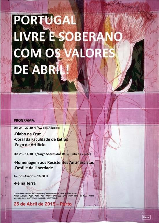 Porto, comemorações do 25 Abril