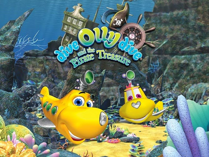 Dive Olly Dive and the Pirate Treasure (2014) DVDRip