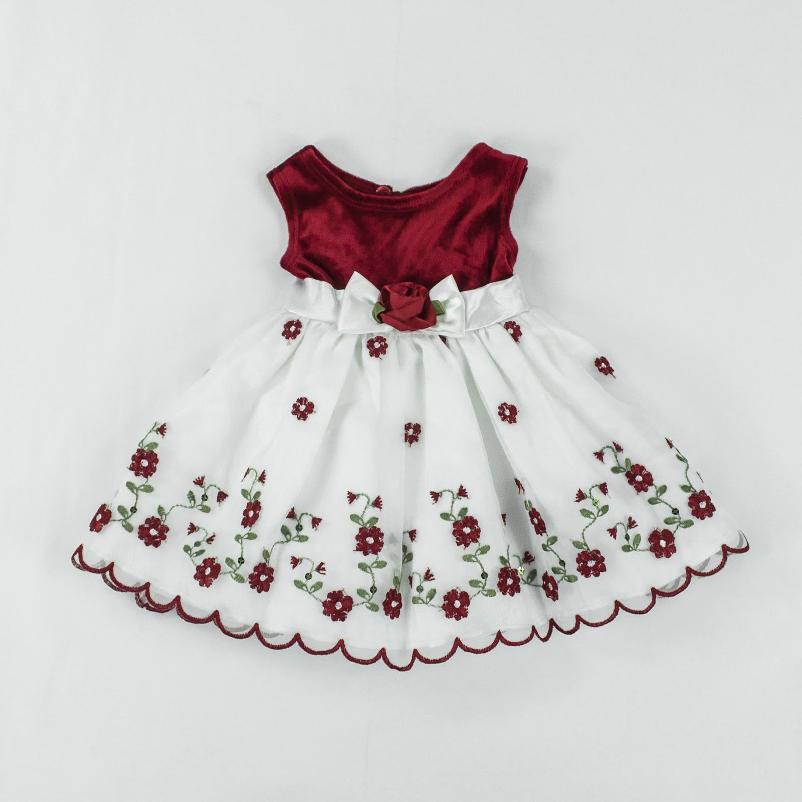 So Lovely Collections Ready Stocks Youngland Velvet Baby Dress