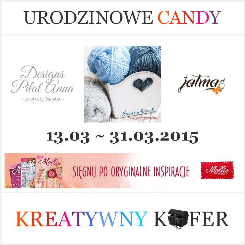 Candy w Kreatywnym Kufrze
