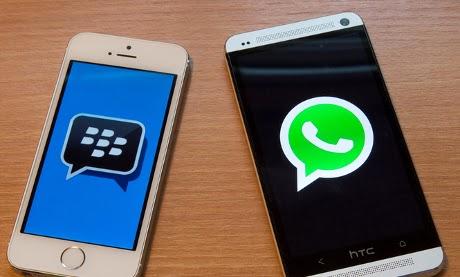 BBM Masih Keteteran Lawan WhatsApp