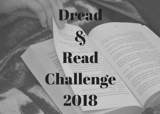 SIGN UP HERE! Dread & Read Challenge 2018