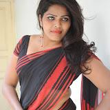 Sitara Hot Photos in Saree at Gundello Guchi Guchi Champake Movie Press Meet 41