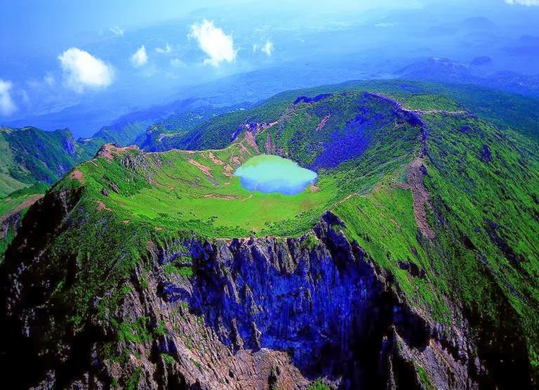 остров Чеджу в Южной Корее