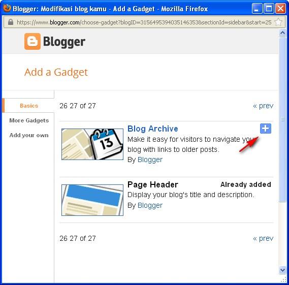 Cara membuat daftar isi blog di blogspot
