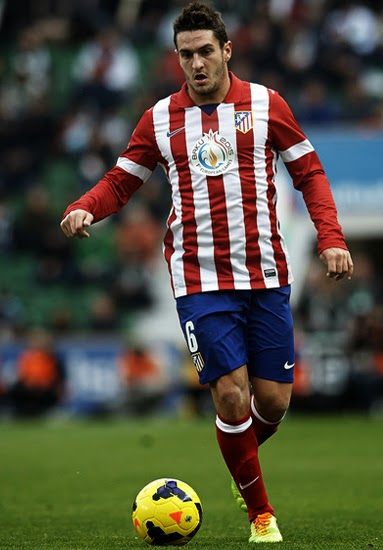 Koke Atletico Madrid Transfer Manchester United 2014