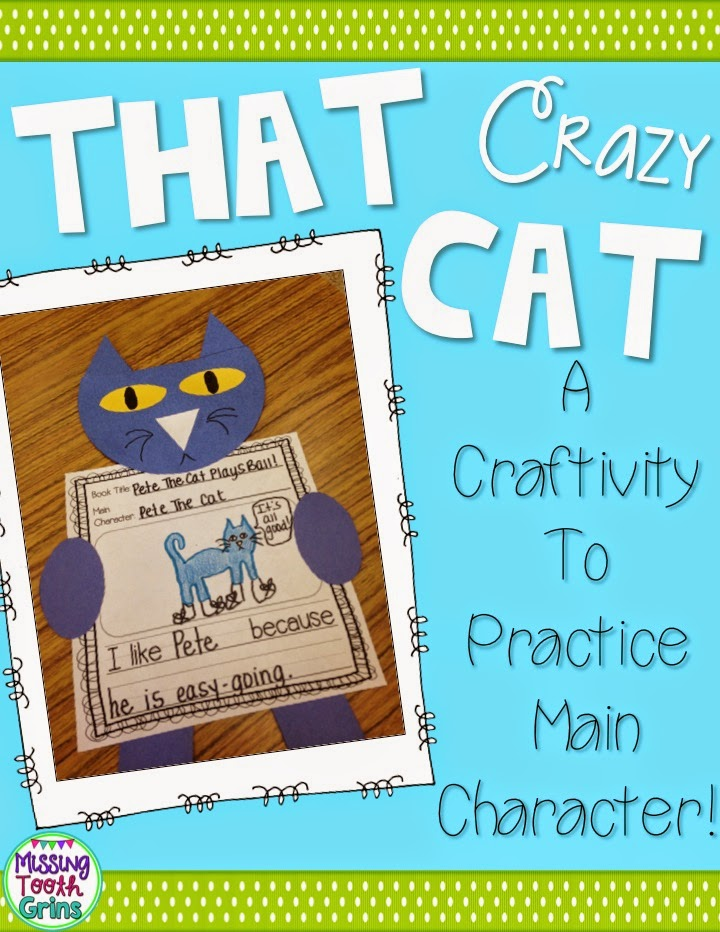 http://www.teacherspayteachers.com/Product/That-Crazy-Cat-Main-Character-Craftivity-1507838