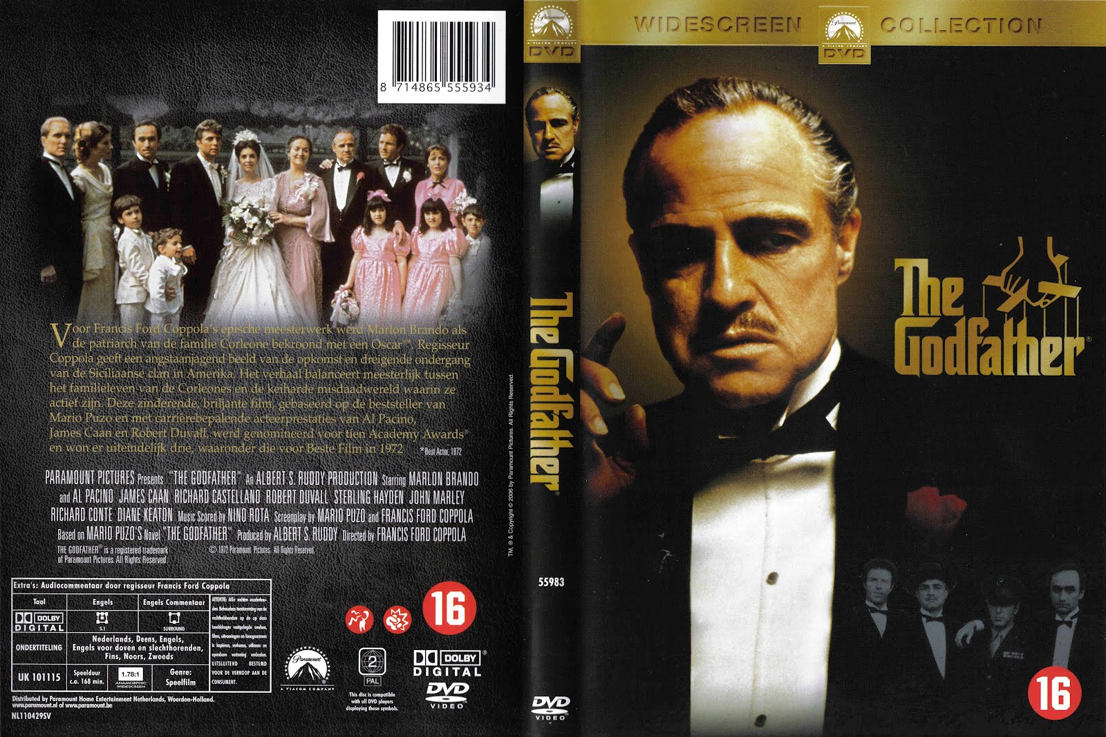 The Godfather Dvd Front Cover
