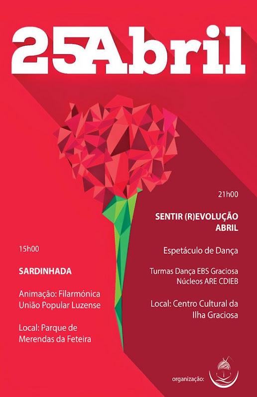 Celebrações do 25 de Abril na Graciosa