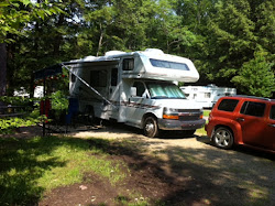 Our Campsite in Warren County PA