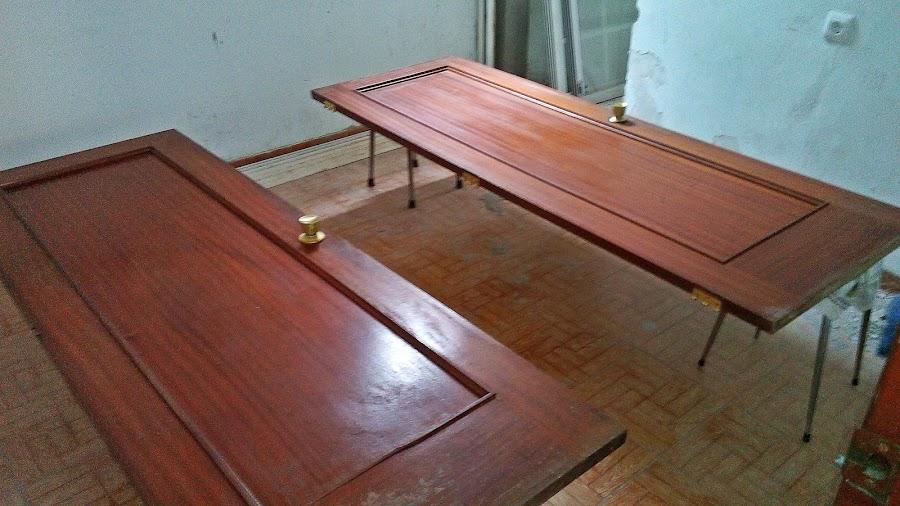 Barnizar puertas - Restaurar paredes viejas ...
