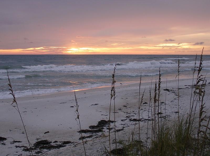 Photo de coucher de soleil sur l'île d'Anna Maria en Floride