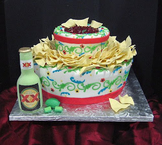 Mexican Fiesta Birthday Cake