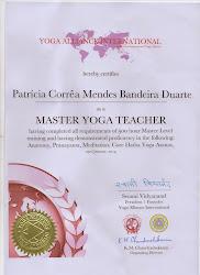 Patricia Corrêa Mendes Bandeira Duarte (Padma) professora certificada 500 horas