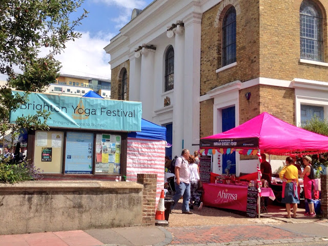 Brighton Yoga Festival 2015 - St Georges Church Kemptown