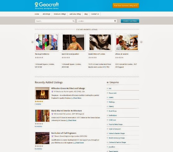 Geocraft Directory Listing