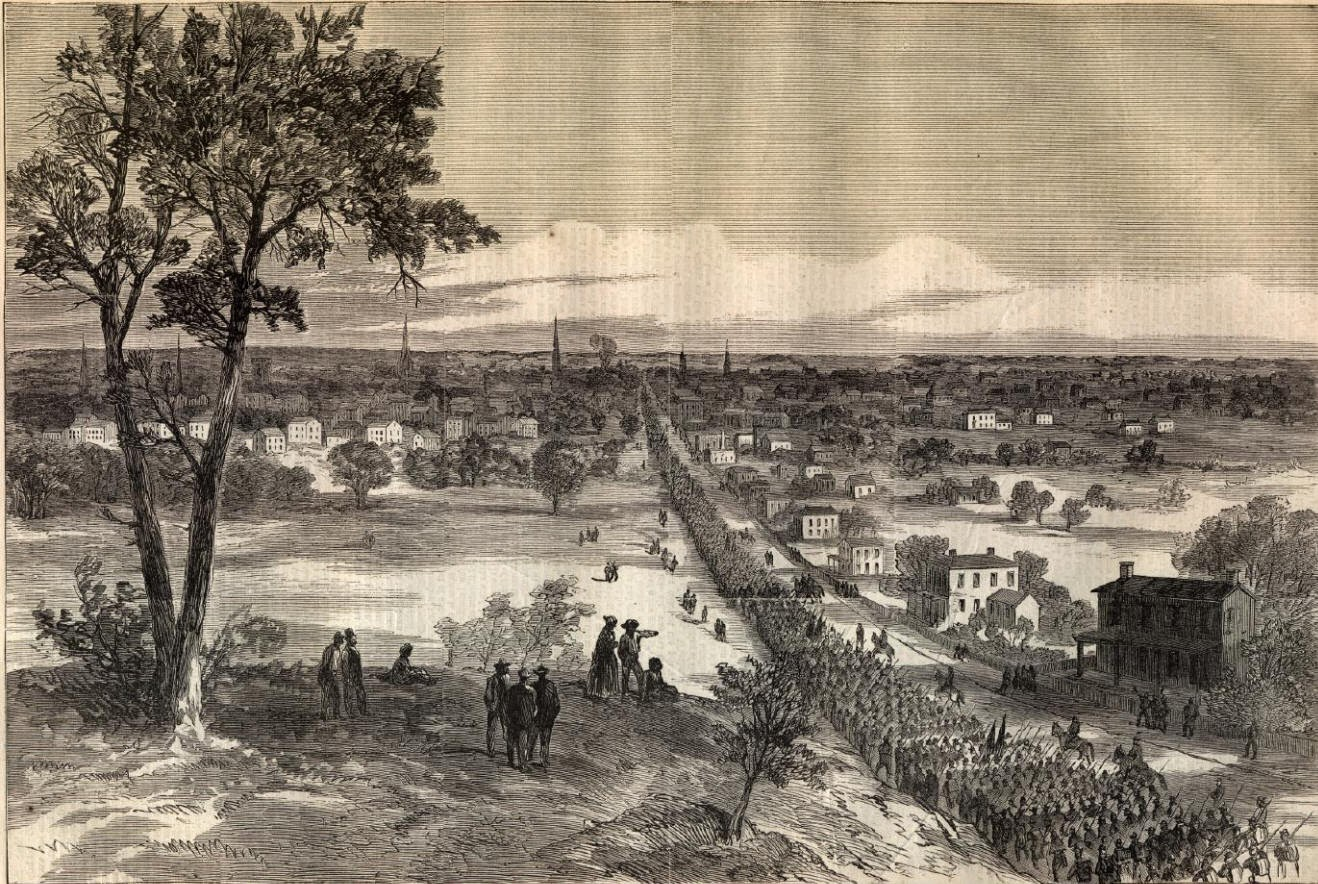 The Richmondpetersburg Campaign Or The Siege, Was A Series Of Nine  Offensives By The Union Forces Against The Confederates Defending  Petersburg And