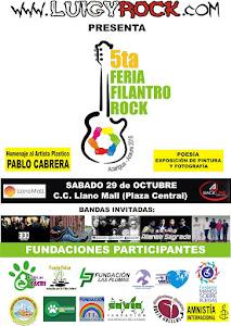 5ta Feria filantroRock 2016
