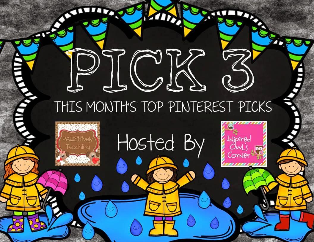 April Pick 3 Pinterest Party & Linky