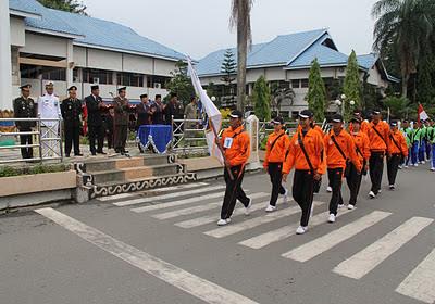 Wakil Bupati Lepas Napak Tilas Jejak Pahlawan