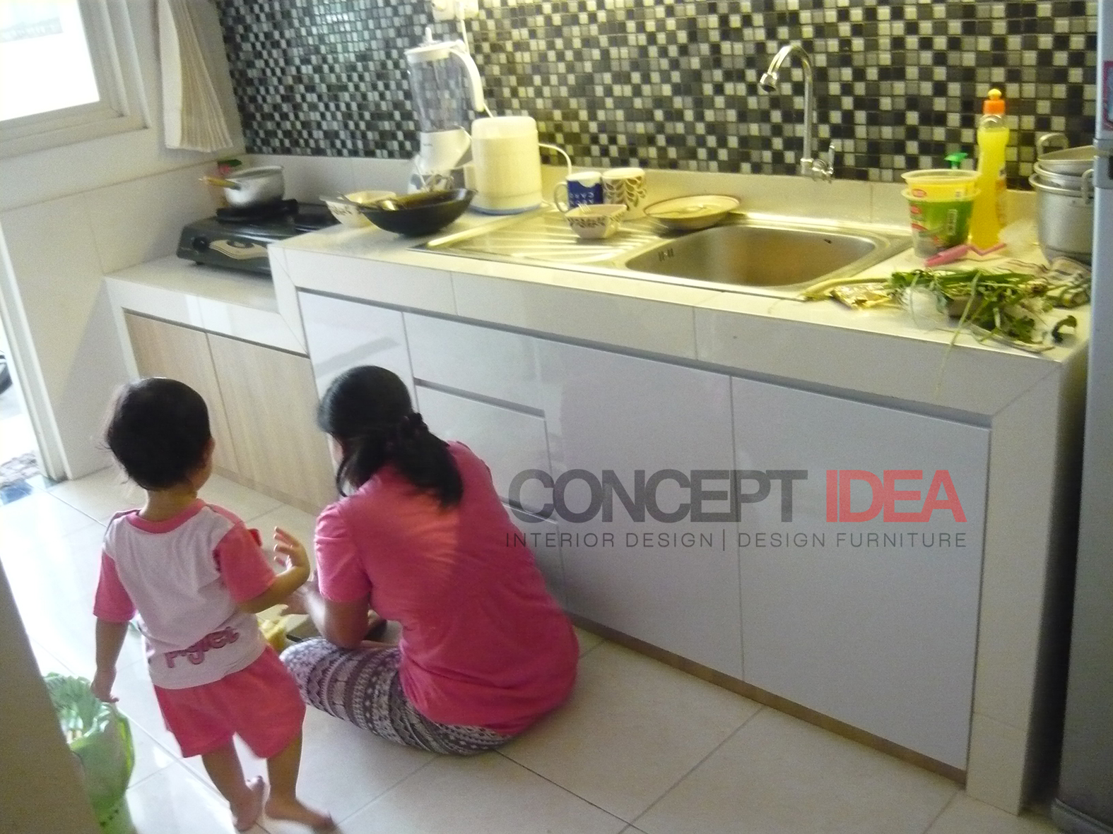Concept Idea Kitchen Set Minimalis Surabaya
