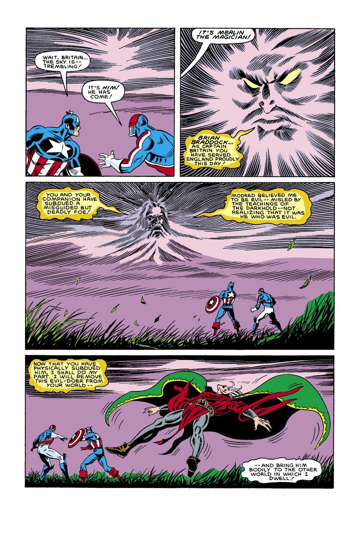 Captain America (1968) Issue #306 #234 - English 22