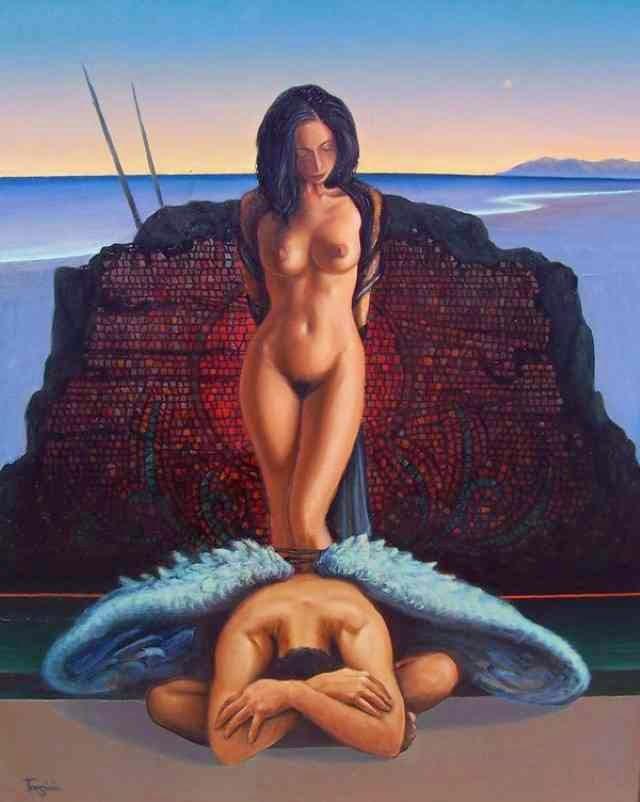 Испанский художник. Alberto Tarsicio