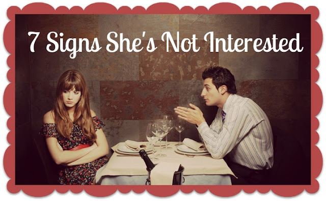 Man not interested in dating