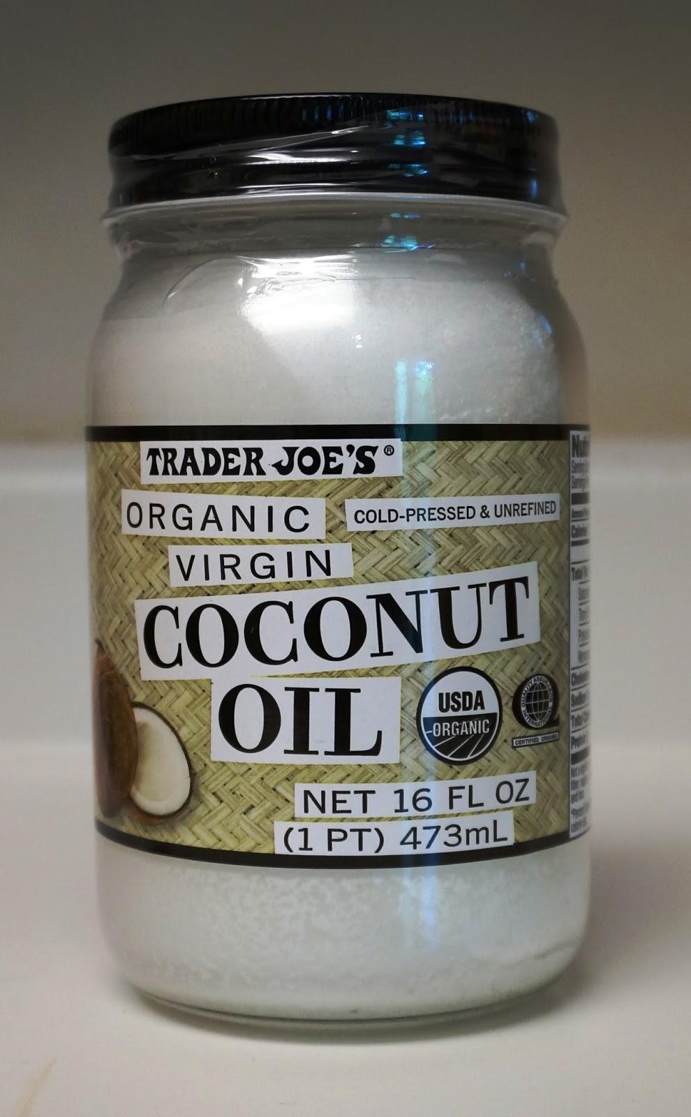 exploring trader joe 39 s trader joe 39 s organic virgin coconut oil. Black Bedroom Furniture Sets. Home Design Ideas