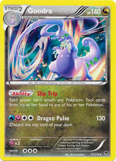 Goodra Phantom Forces Pokemon Card